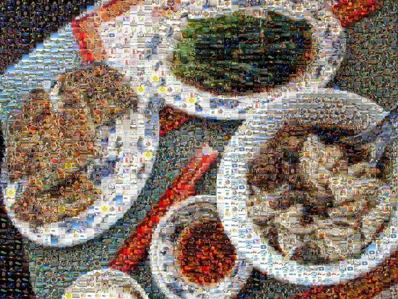 China Mosaic 1024