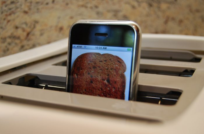 Iphone-toast