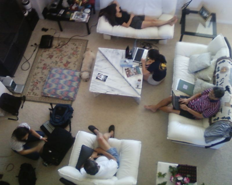 Sanjoto living room