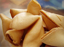 Fortune cookie from fortunecookiestore.com