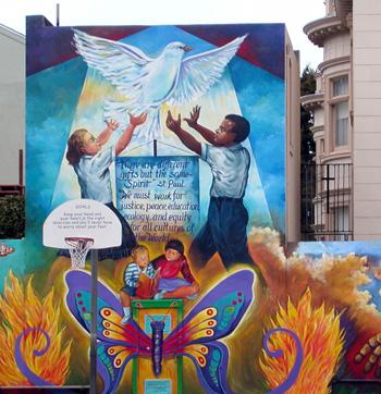 San Francisco Catholic School Playground
