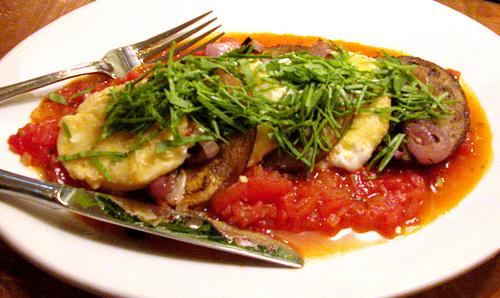 "Restaurant Starlu's ""Eggplant Parmesan, Reconsidered"""