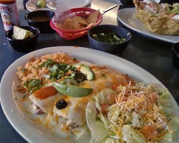 Crabenchiladas