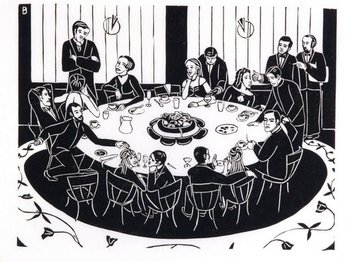 Round_table_linocut_by_bronwyn_me_2