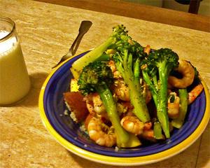 Broccoliandshrimp450